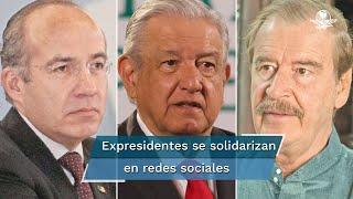 López Obrador denunció un monopolio de empresas farmacéuticas que acapararon el mercado de medicamentos, que fueron capaces de movilizar a padres y niños con cáncer