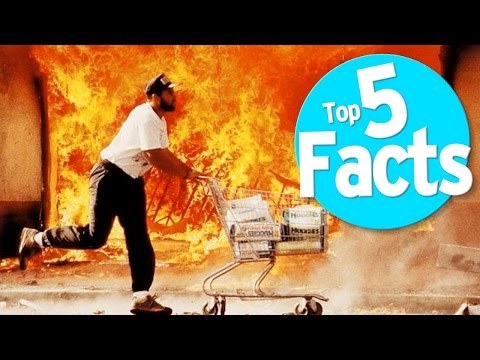 Top 5 Facts: 1992 LA Riots