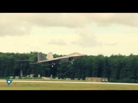 F-22 and A-10 @ Ämari Air Base