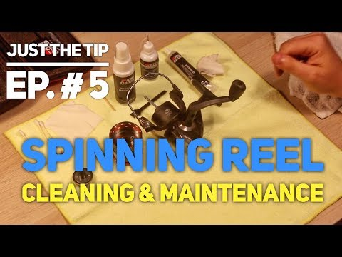 How To Clean A Spinning Real (Basic)