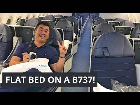 Flat Bed Luxury on a Boeing 737 MAX! COPA Airlines