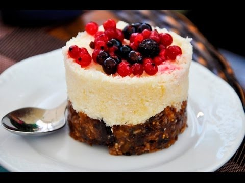 Quick And Easy Raw Vegan Dessert Youtube