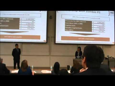 1st Place  |  Tax Case  |  UBC - Sauder School of Business  |  JDC West 2012