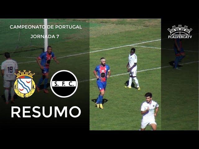 FC Alverca vs Sertanense - Resumo do Jogo