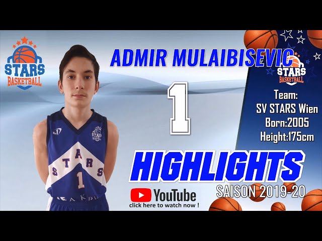 Stars Highlights Factory : ADMIR MULAIBISEVIC Saison 2019-20