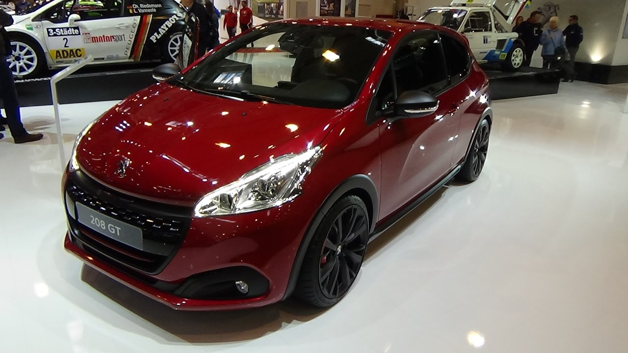 2017 peugeot 208 gti thp 208 by peugeot sport exterior and interior essen motor show 2016. Black Bedroom Furniture Sets. Home Design Ideas