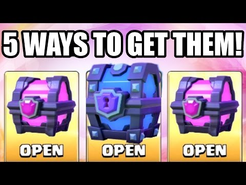 5 WAYS TO GET MAGICAL & SUPER MAGICAL CHESTS IN CLASH ROYALE! (Different Methods Explained)