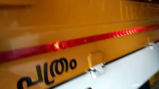 Bolero Maxi truck after 100000km run  company tyers