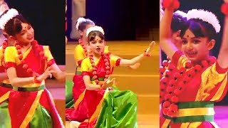 Aishwarya Rai Daughter Aaradhya Bachchan Dance Performance Video At Ambani School Annual Day 2019