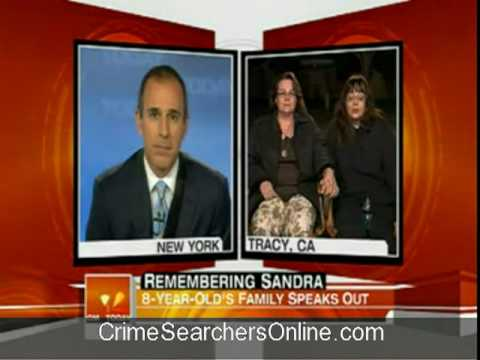 Sandra Cantu's mother, Maria Chavez on 'Today' show 4/9/0...