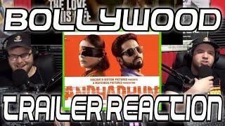 Bollywood Trailer Reaction: Andhadhun