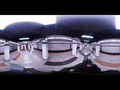 Toronto: TTC's Bay Lower subway station tour 360/VR video