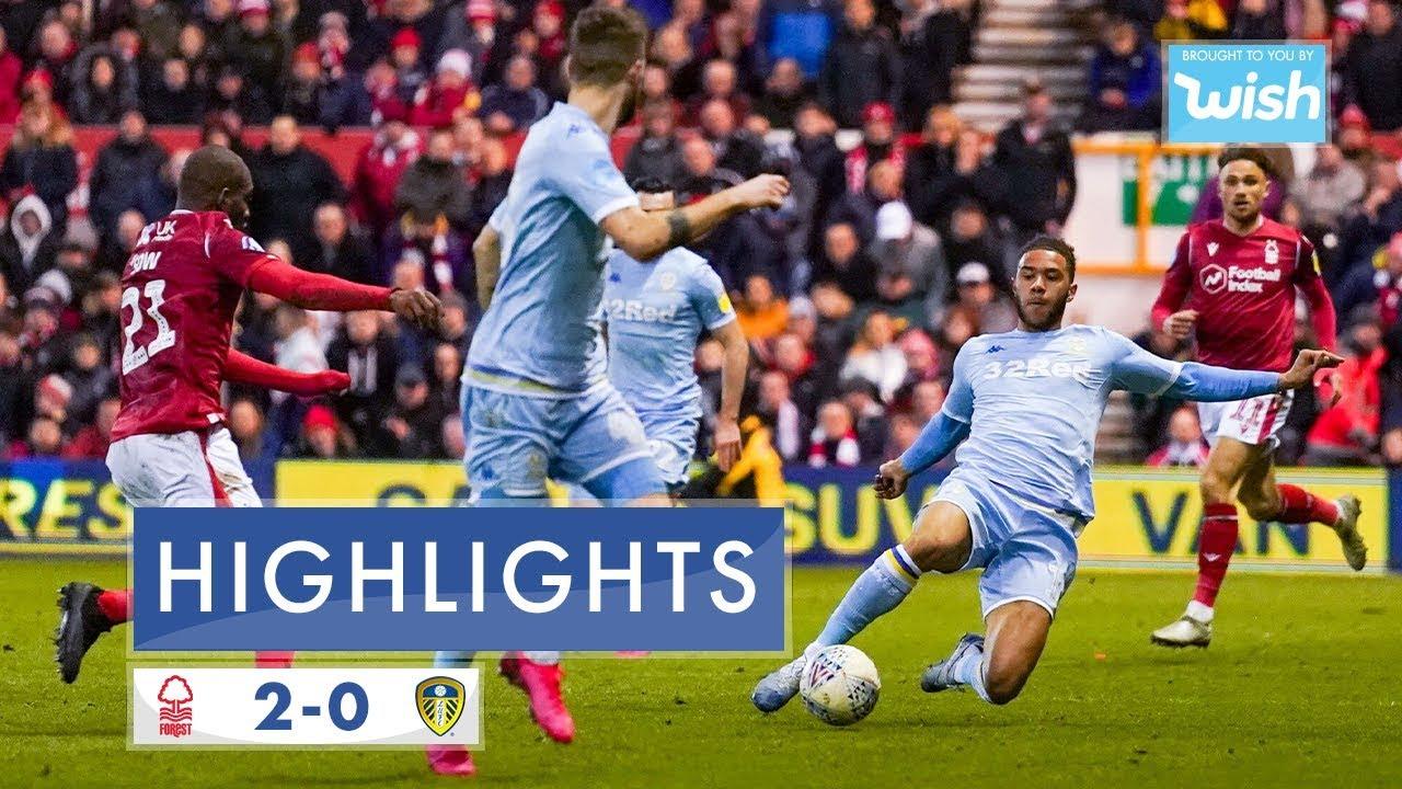 Ноттингем Форест  2-0  Лидс Юнайтед видео