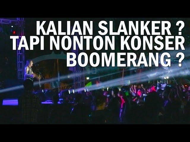KONSER BOOMERANG PALING KEREN ( Indonesia 2018 )