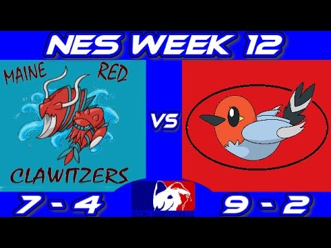 "NES W12 Maine Red Clawitzers vs Swindon Fletchlings ""Break The Walls Down"""