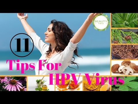 11 Tips To Cure HPV Virus Naturally | BEAUTY TIPS