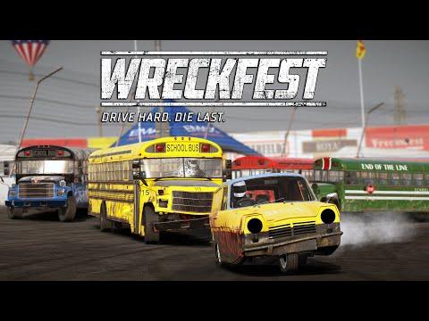 Wreckfest | Survival Race | The Great Escape @ Big Valley Speedway
