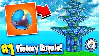 USING PORT-A-FORT TO GET ABOVE BUILD LIMIT!! (Fortnite Battle Royale)