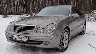 Тест - Обзор Mercedes-Benz E-class w211 E240 Avantgard