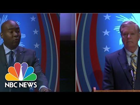 Democratic Challenger Jamie Harrison To Sen. Graham: 'How Good Is Your Word?' | NBC News
