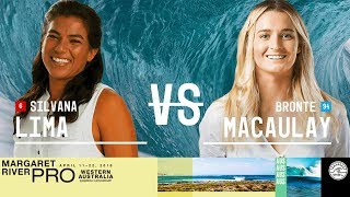 Silvana Lima vs. Bronte Macaulay - Round Two, Heat 2 - Margaret River Women's Pro 2018