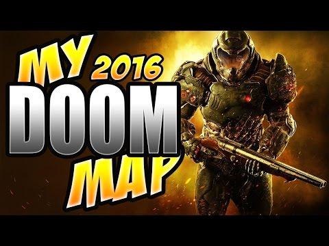 "DOOM: Custom Maps "" HELL LAB"" My First Map (DOOM 2016)"