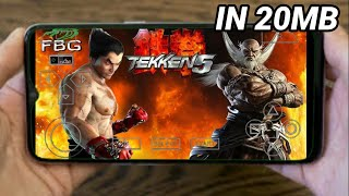 (20MB)Download Tekken 5 Highly compressed in android