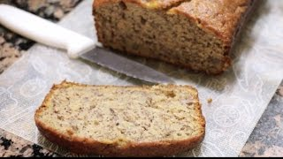 One Bowl Banana Bread | Rookie With A Cookie