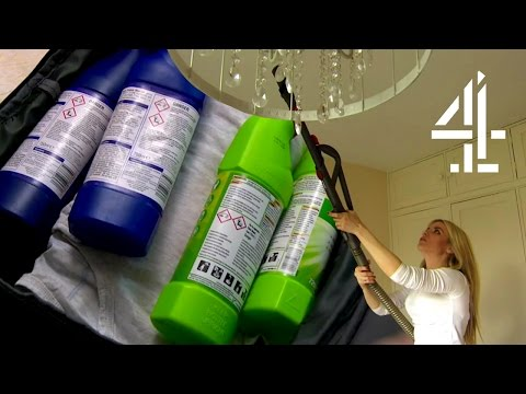 Vacuum Cleaning The Air & Bleaching Food | Obsessive Compulsive Country House Cleaners