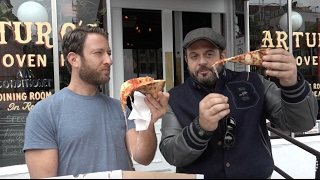 Barstool Pizza Review - Arturo's Pizza With Special Guest Adam Richman of Man Vs Food