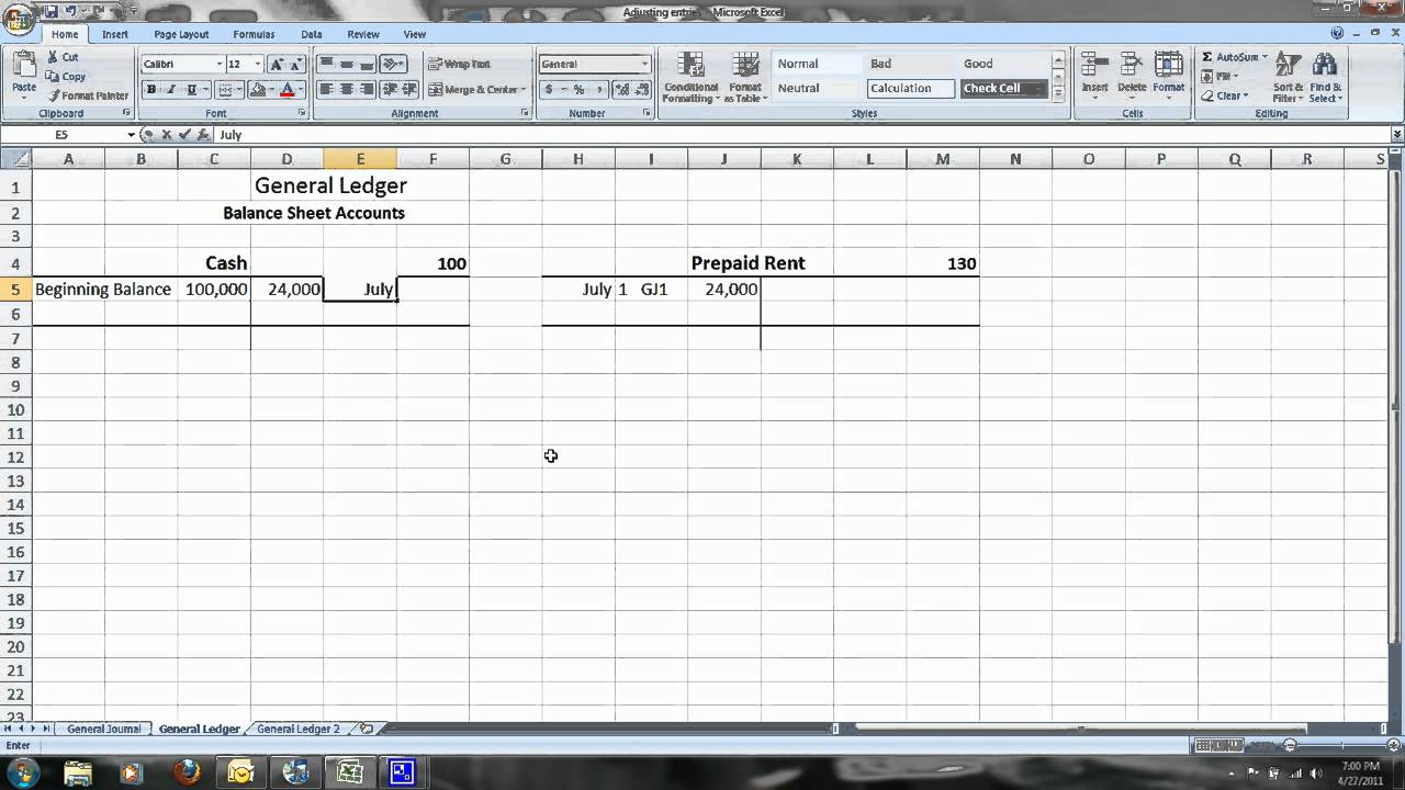 Image Result For Accounting Adjusting
