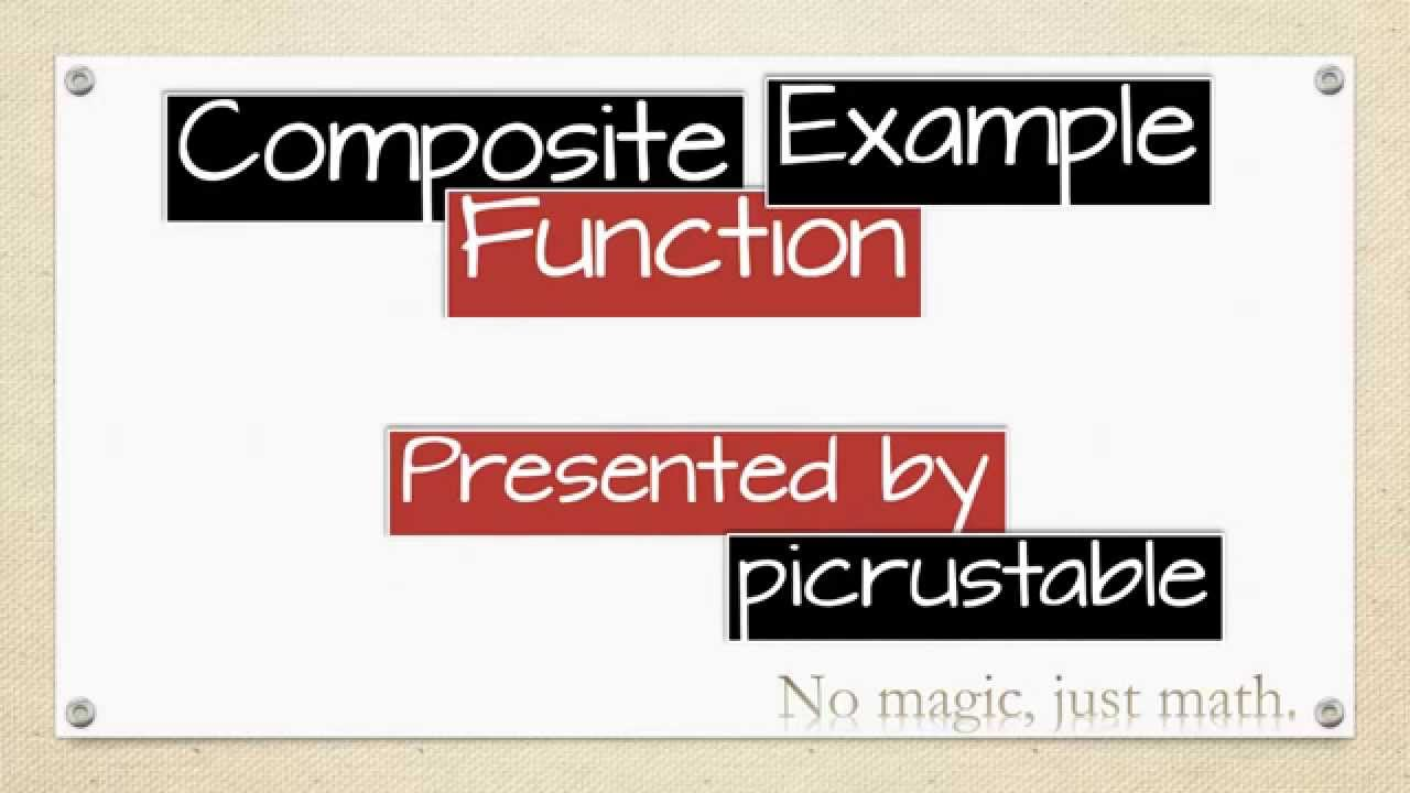 Composite Functions fgx gfx Worksheet YouTube – Composite Functions Worksheet