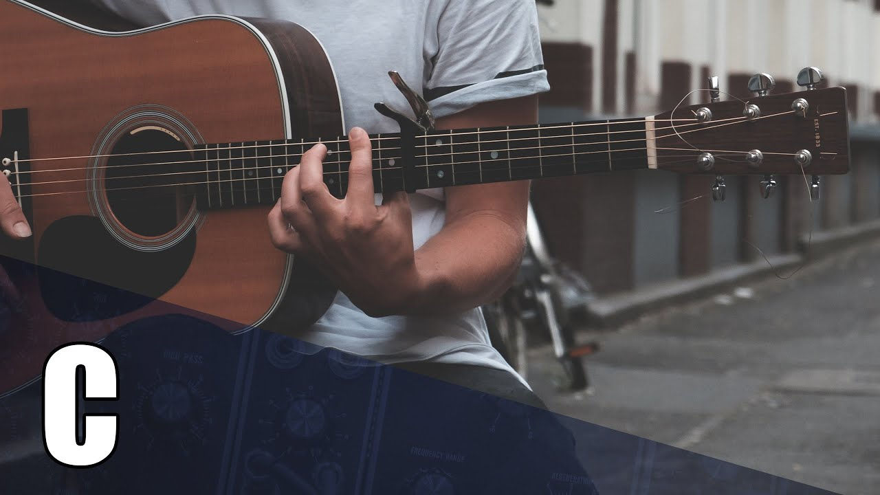 Midsummer Acoustic Guitar Backing Track In C