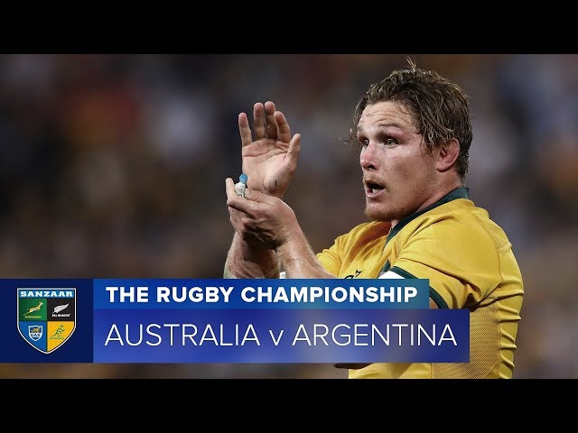 HIGHLIGHTS: 2018 TRC Rd 4: Australia v Argentina
