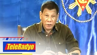 167 million Pinoys are drug addicts? Duterte blames poor eyesight for wrong info | TeleRadyo