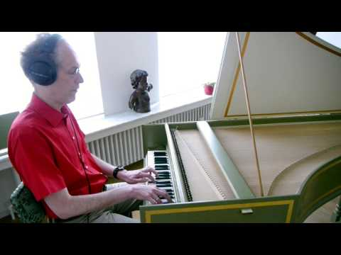 Golden Brown by The Stranglers - Harpsichord Cover