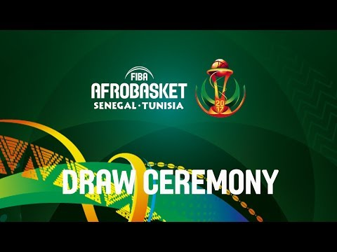 FIBA Afrobasket 2017 - Draw Ceremony - Re-Live