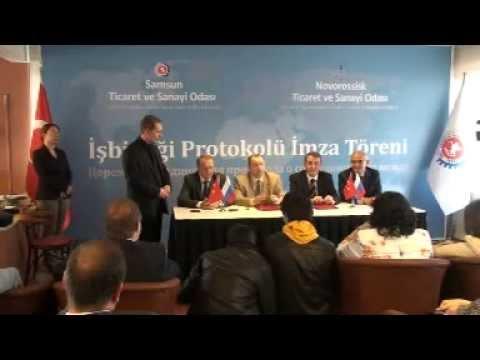 Novorossisk-Samsun İşbirliği Protokol