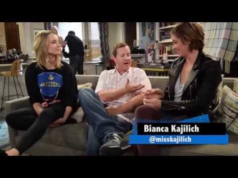 On Set Of UNDATEBALE With Bianca Kajlich & Bridgit Mendler!