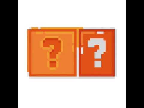 Pixel Art 6 Mario Block