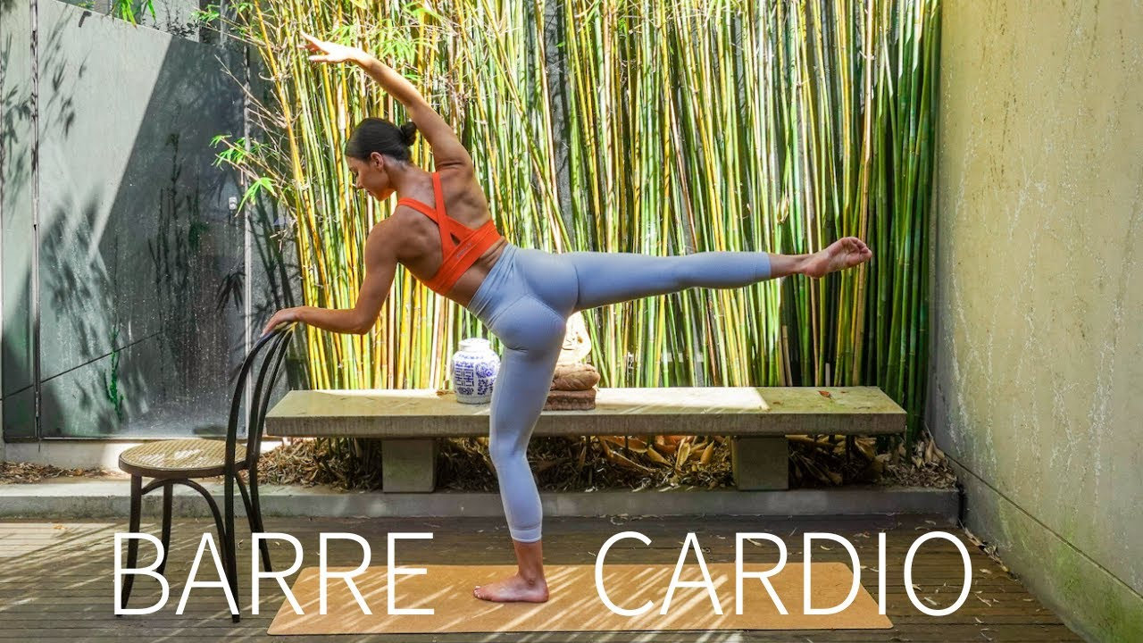 30 MIN CARDIO BARRE & PILATES || At-Home Full Body Workout