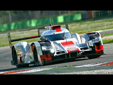 2015 Audi R18 e-Tron Quattro Le Mans Spec Going Flat Out @ Track!