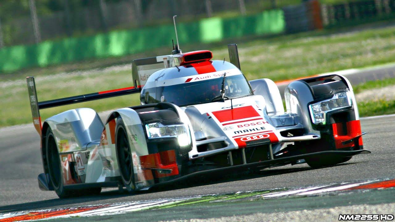 2015 Audi R18 E Tron Quattro Le Mans Spec Going Flat Out