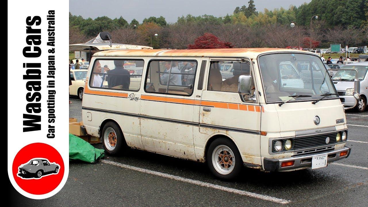 Nice Ur Van A 1980 Ish E23 Nissan Homy Caranvan Urvan Youtube