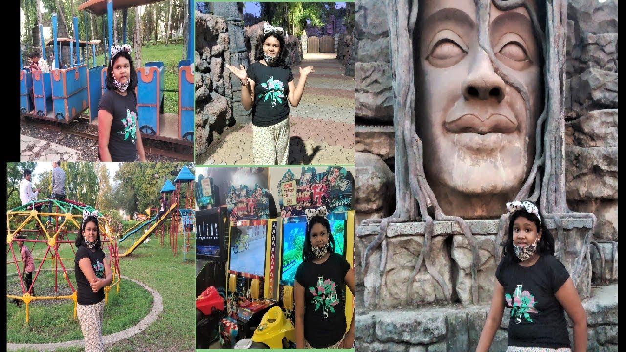 My Garden Tour, Vishava Garden, A Beautiful Garden in  Nanded Maharashtra, My 2nd Travel Hindi Vlog.