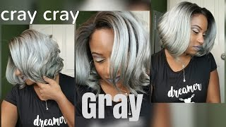 she s got that cray cray gray bob it s a wig remi touch lace rt7