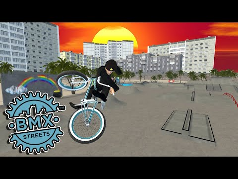 BMX Streets Is Happening - Concrete Beach Is Still Sick! - BMX Streets Pipe Gameplay