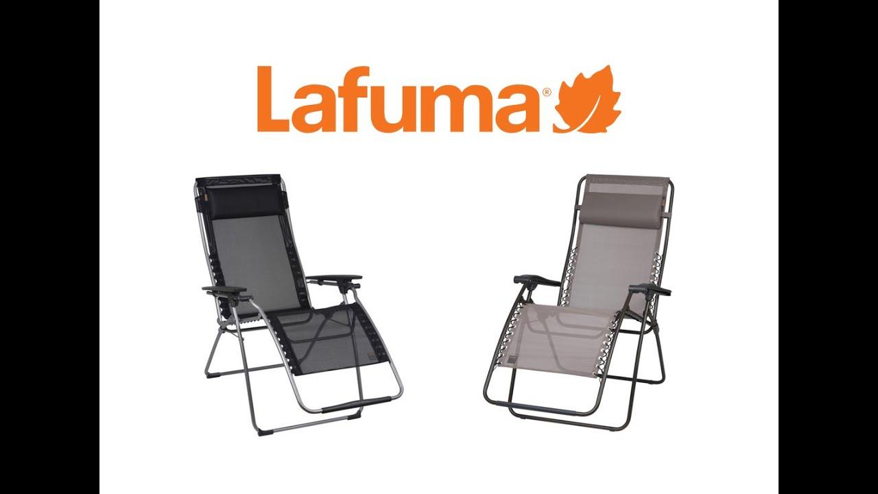 Lafuma RSXA Recliner - YouTube