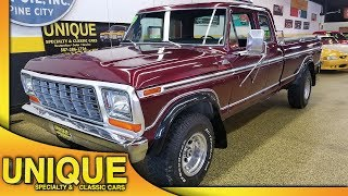 1979 ford f250 4x4 for sale video clip