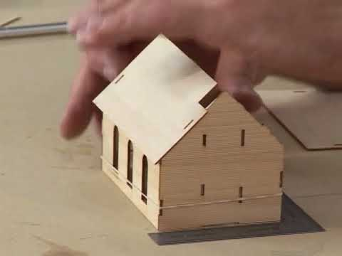 Making Superb Model Railroad Structures with Wooden Kits